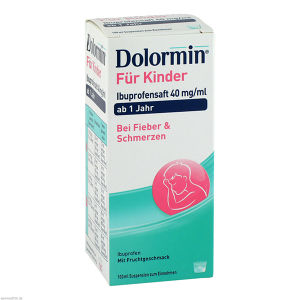 Dolormin für Kinder Ibuprofensaft 40 mg/ml