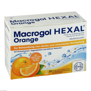 Macrogol HEXAL Orange