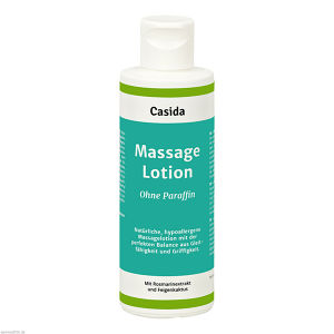 Massage Lotion ohne Paraffin